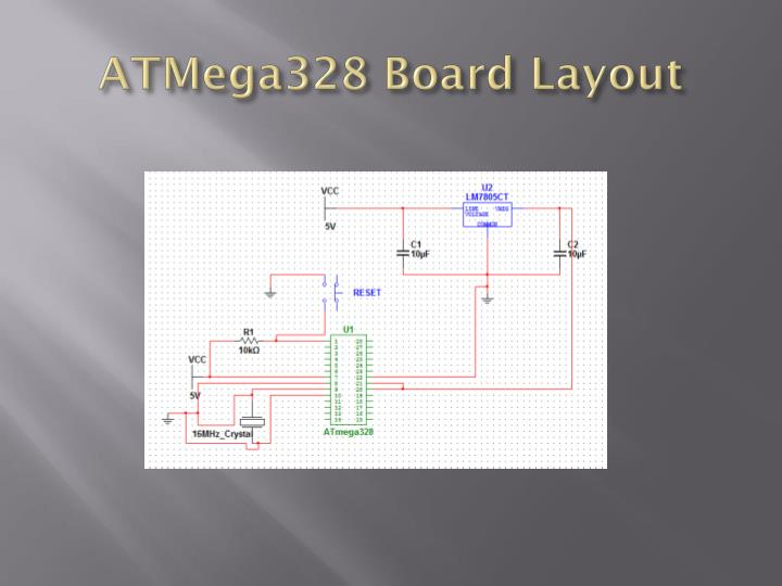 ATMega328 Board Layout