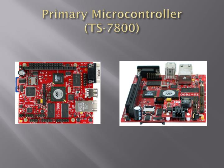 Primary Microcontroller            (TS-7800)