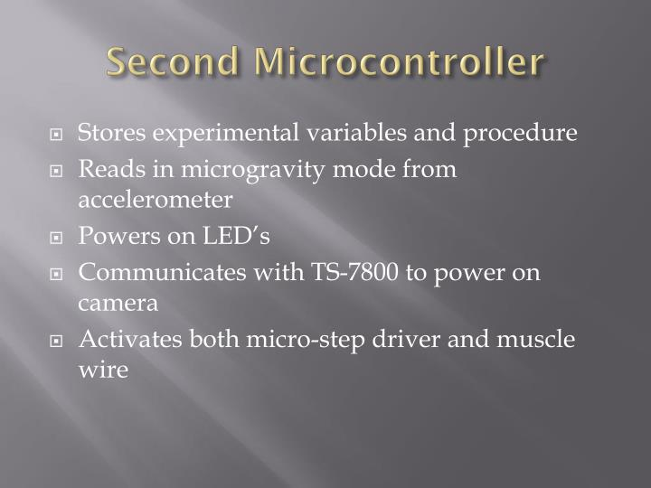 Second Microcontroller
