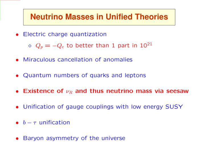 Neutrino Masses in Unified Theories