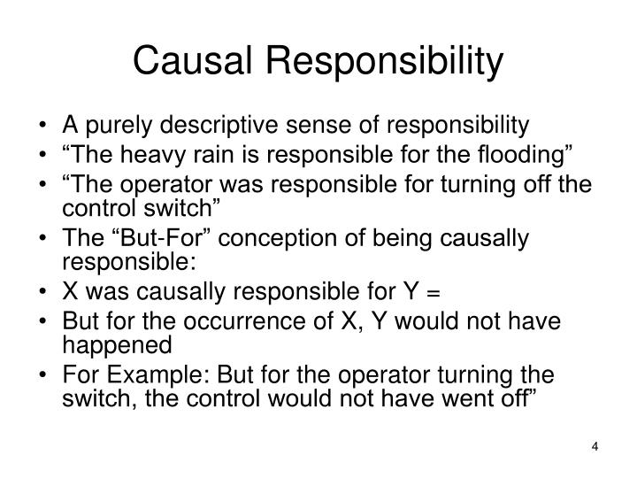 Causal Responsibility