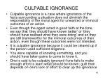 culpable ignorance2