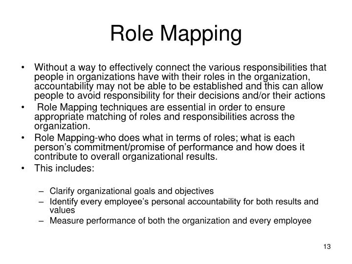 Role Mapping