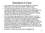 standard of care1