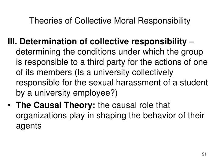 Theories of Collective Moral Responsibility