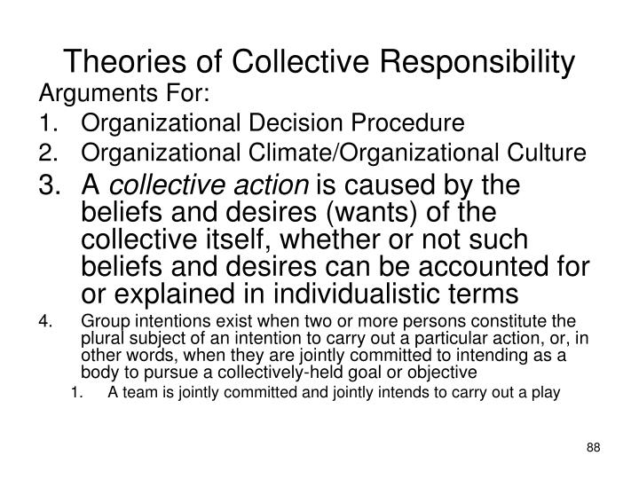 Theories of Collective Responsibility