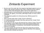 zimbardo experiment