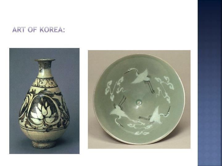 Art of Korea: