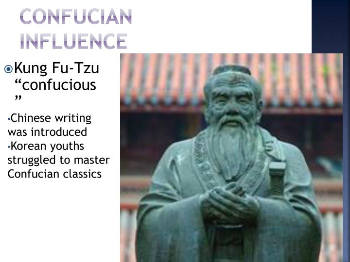 Confucian Influence