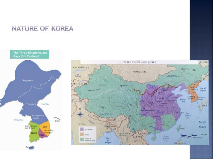 Nature of korea