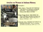articles on women in indiana history1