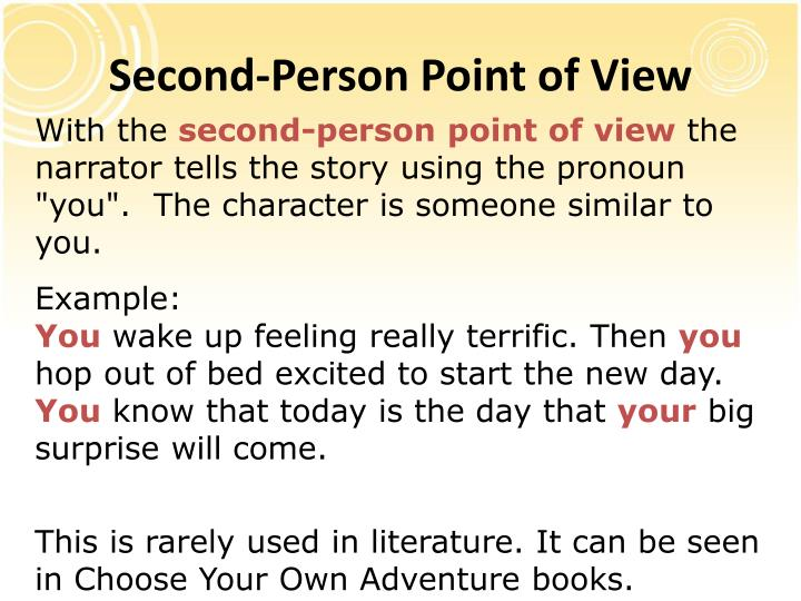 Second-Person Point of View