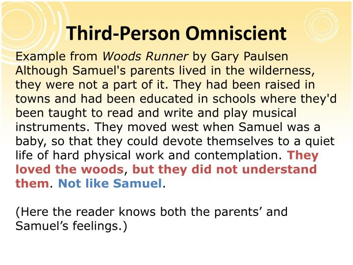 Third-Person Omniscient