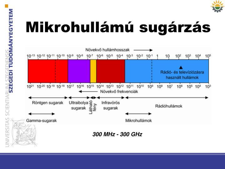 Mikrohullámú sugárzás