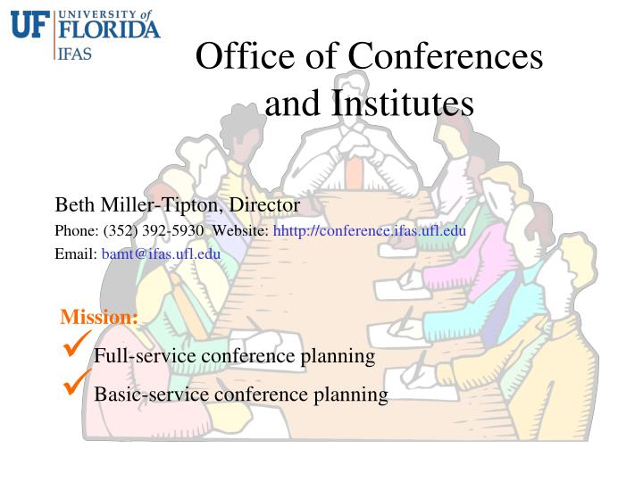 Office of Conferences