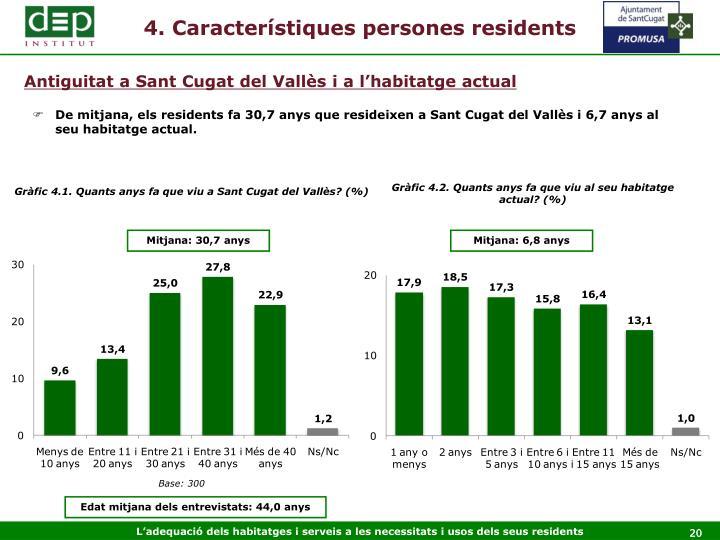 4. Característiques persones residents