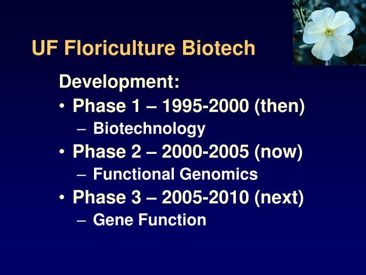 UF Floriculture Biotech