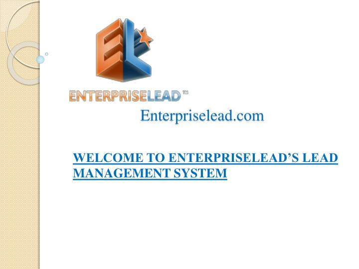 Enterpriselead com