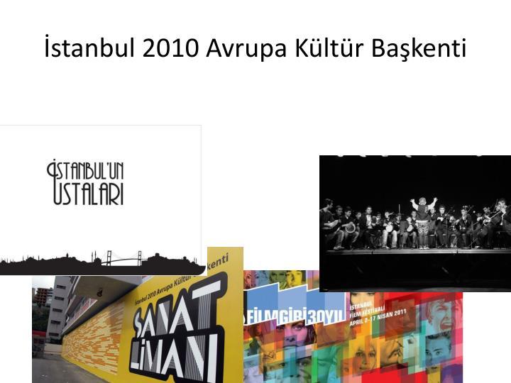 İstanbul 2010 Avrupa Kültür Başkenti