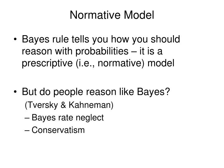 Normative Model