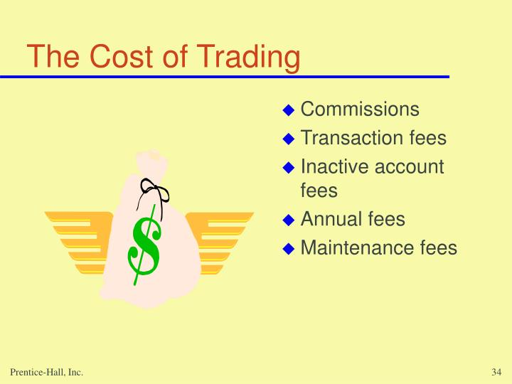 The Cost of Trading