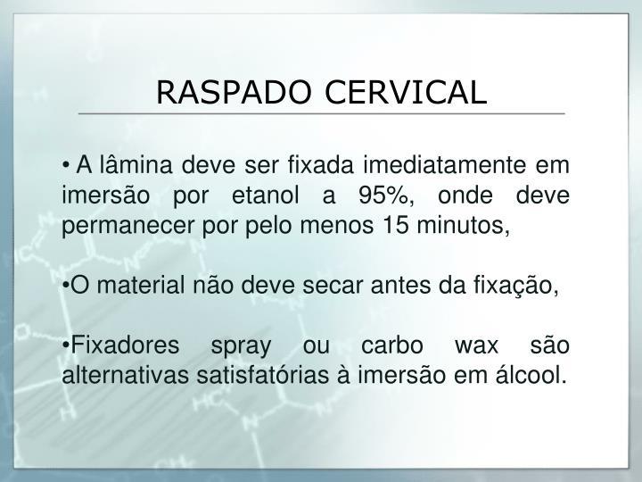 RASPADO CERVICAL
