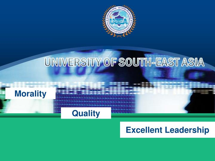 UNIVERSITY OF SOUTH-EAST ASIA