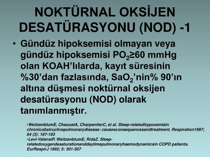 NOKTRNAL OKSJEN DESATRASYONU (NOD) -1