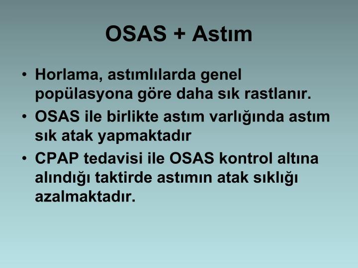 OSAS + Astm