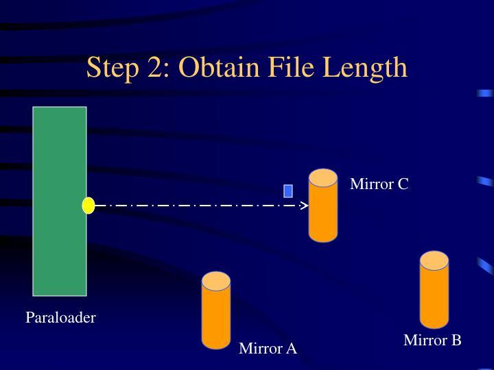 Step 2: Obtain File Length