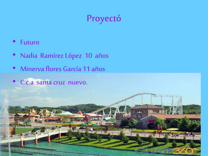 Proyect