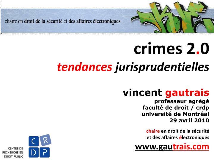 crimes 2