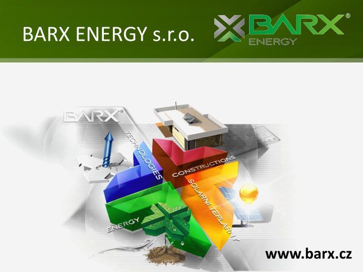 BARX ENERGY s.r.o.