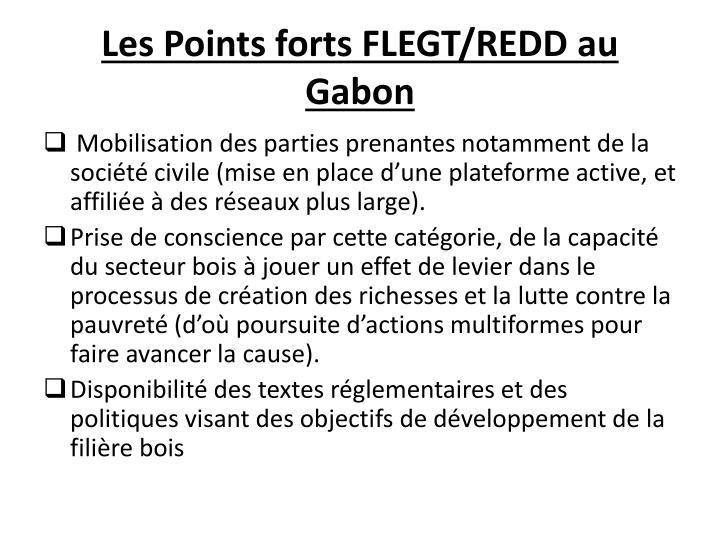 Les Points forts FLEGT/REDD au Gabon