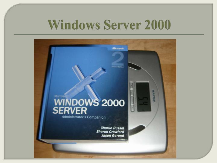 Windows Server 2000