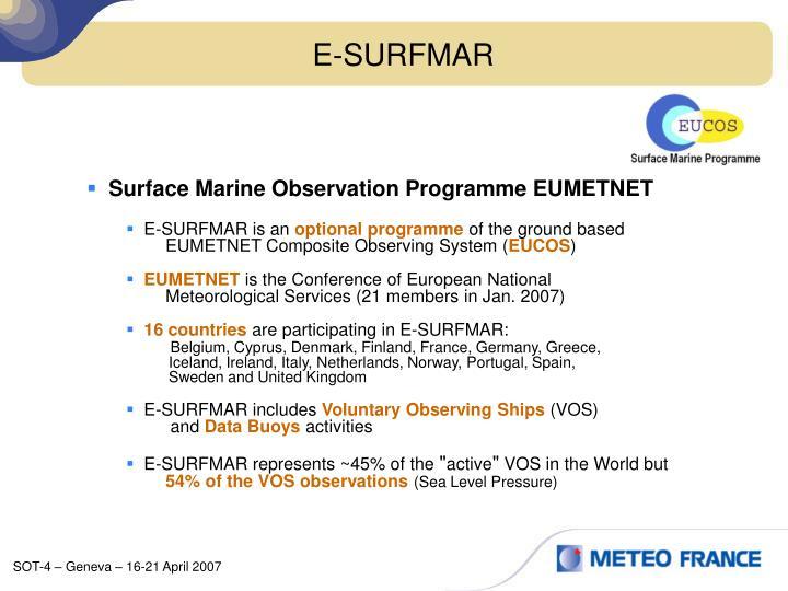 E-SURFMAR