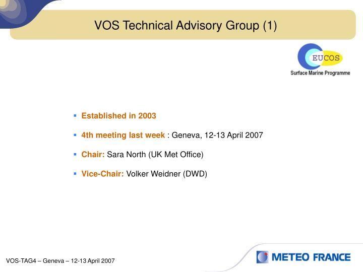 VOS Technical Advisory Group (1)