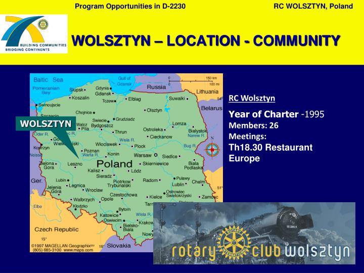 Wolsztyn location community