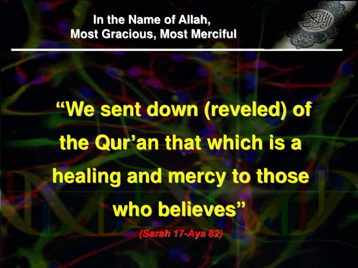 In the Name of Allah,