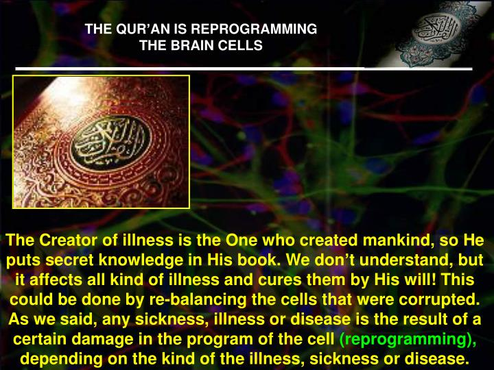 THE QUR'AN IS REPROGRAMMING