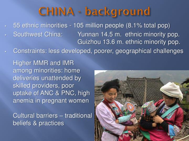 CHINA - background