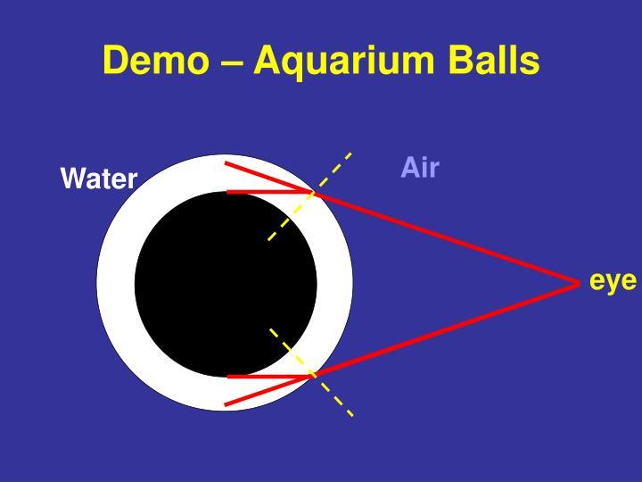 Demo – Aquarium Balls