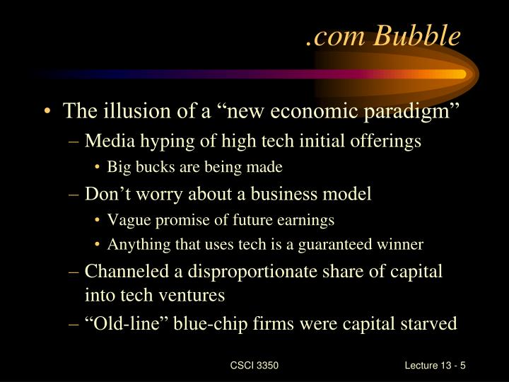 .com Bubble