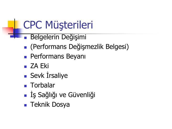 CPC Müşterileri