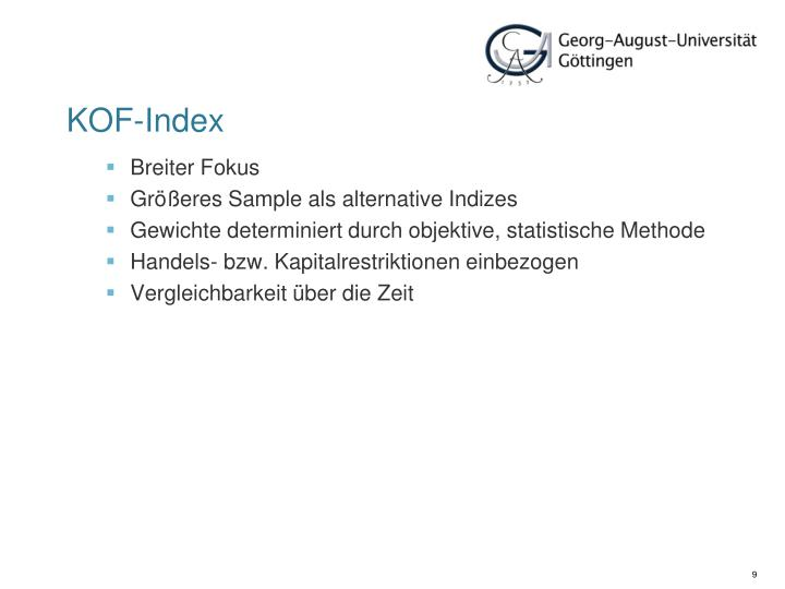 KOF-Index