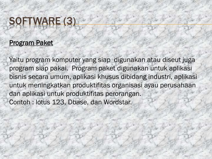 software (3)
