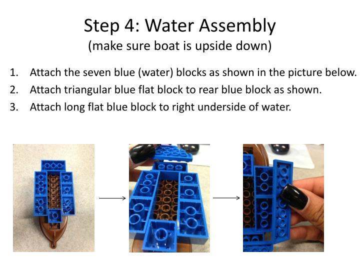Step 4: Water Assembly