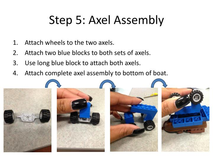 Step 5: Axel Assembly