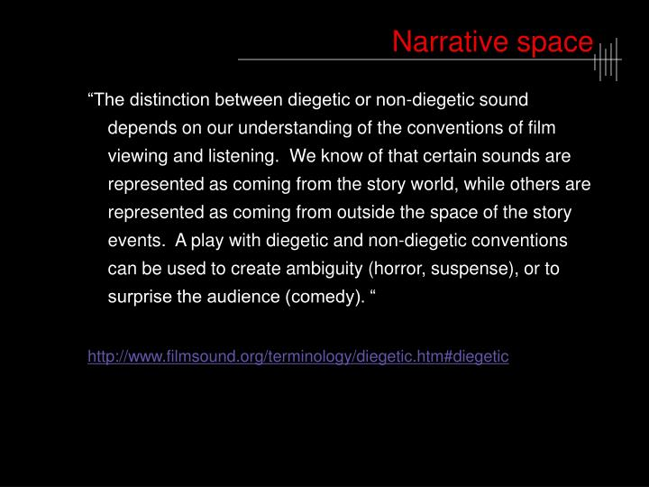 Narrative space