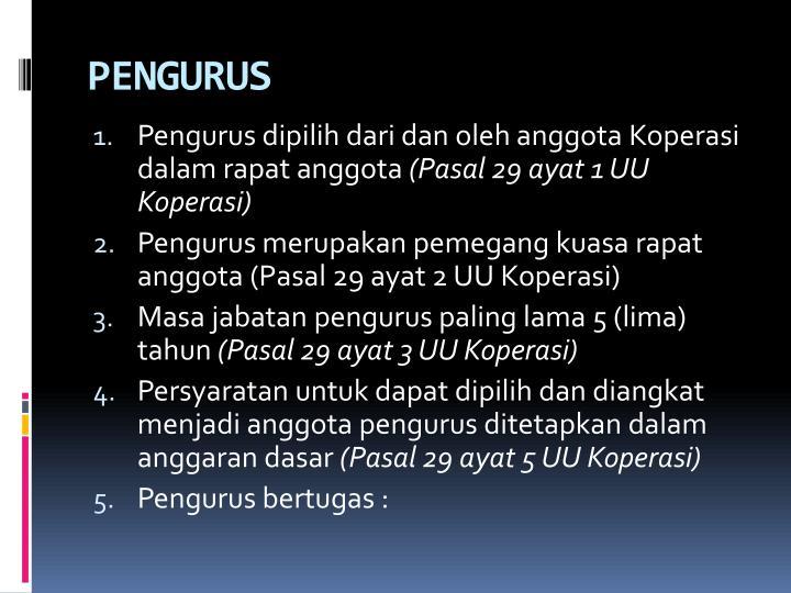 PENGURUS